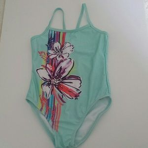 NWT - Gymboree Girls Size Small (5-6) Swimsuit